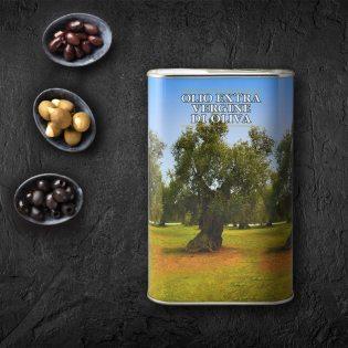 Cottone natives Olivenöl extra - Kanister 1 L